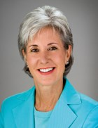 HHS Secretary Kathleen Sebelius